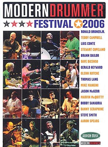 4 Drummer DVDs! - Modern Drummer Festival - Saturday/Sunday 2006 w/Top Drummers DVD