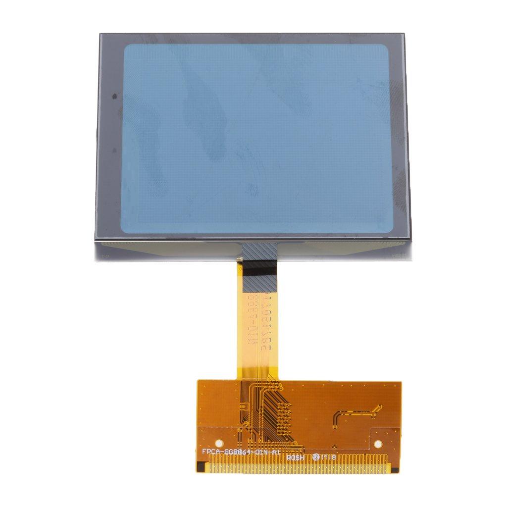 Flameer LCD Repair Cluster Speedometer Display Screen For Audi A6 C5 4B Series by Flameer (Image #9)