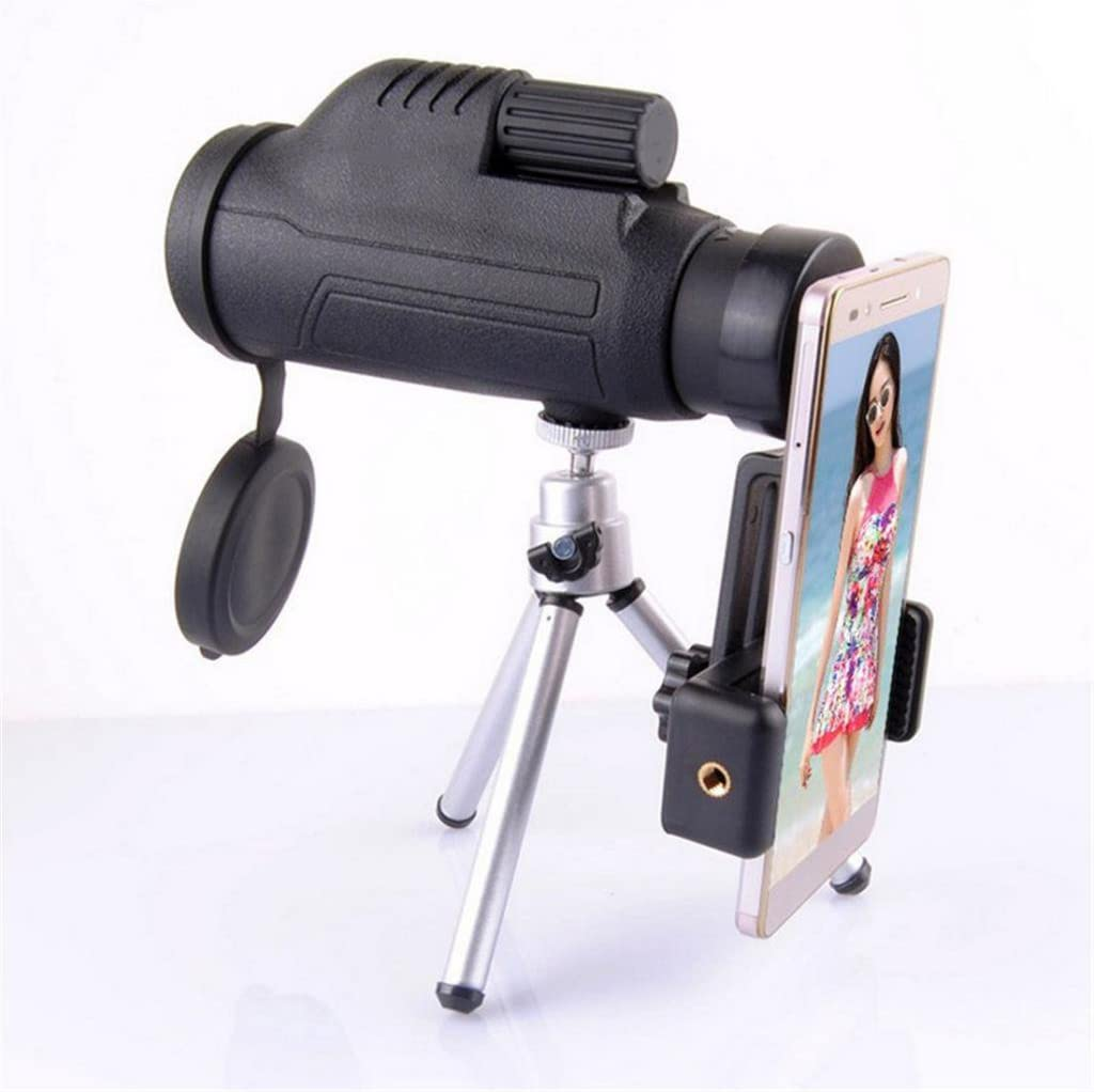 Almencla 43mm Dia Cellphone Capturer Adapter Holder for Binocular Monocular Telescope