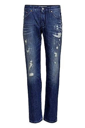 Droit Drykorn Couleur Jerk Jeans 3232 Homme Jean Taille Bleu E4v4anwqBx