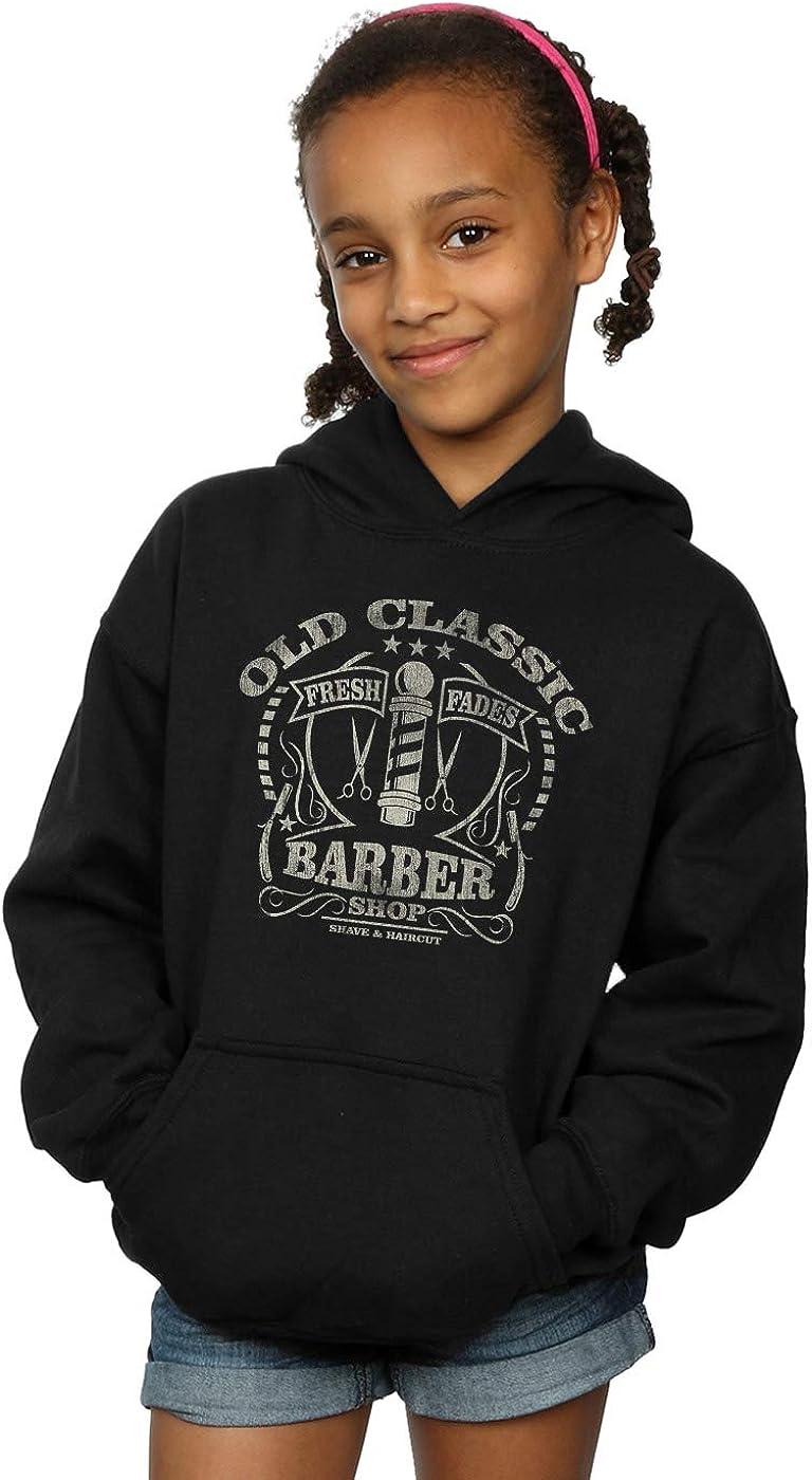Drewbacca Girls Old Classic Barber Hoodie