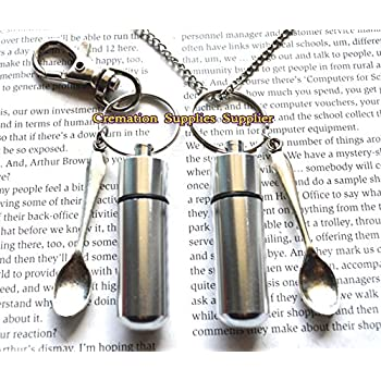 Bullet Keychain With Mini Spoon Cocaine Spoon Keychainclick To