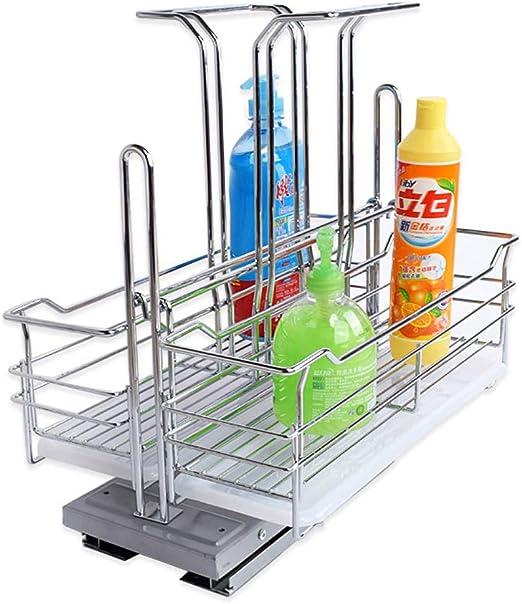 Organizador para racks de especias Portavasos para racks de especias 2pcs Soporte para racks de cocina