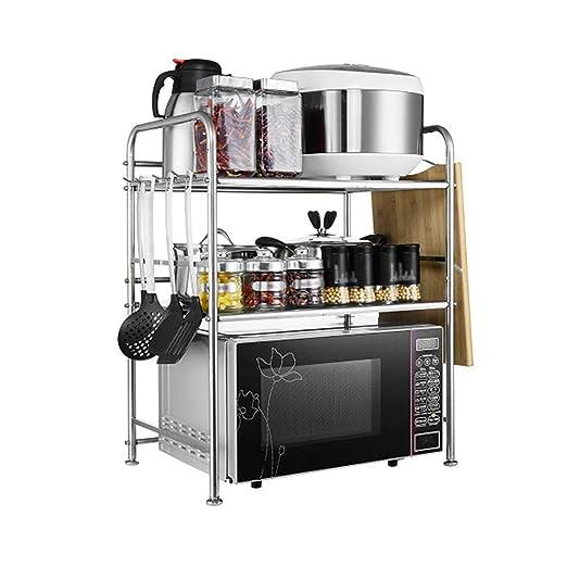 QFFL Estantes de cocina, Estante del Horno de Microondas del ...
