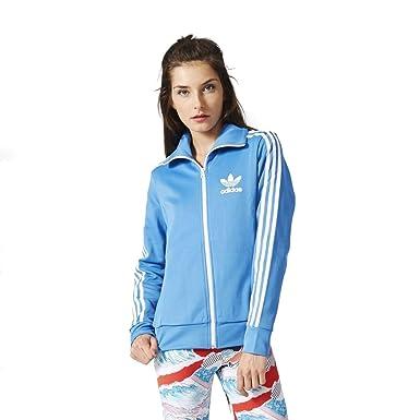 Amazon.com  adidas Originals Womens Apparel Europa Track Top  Clothing 0764598b8a