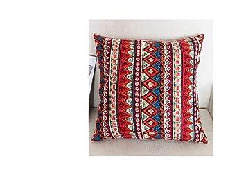 Estera de tabla Almohada con estampado de algodón y lino ...