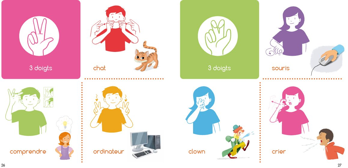 Fabuleux Amazon.fr - Mon imagier de la langue des signes française  WV76