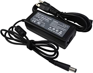 ANGWEL New Laptop Charger AC Adapter for HP Pavilion DV5, DV7, DV4, PPP009H, 608425-002, 609939-001,18.5V 3.5A 65W 7.4mm5.0mm