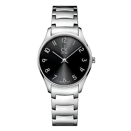 Calvin Klein K4D2214X - Reloj para mujeres, correa de acero inoxidable: Amazon.es: Relojes