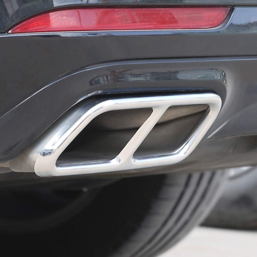 Outbit Auspuffspitze 2 PC Autoauspuffendrohr-Endrohr f/ür Mercedes Benz S-Klasse W221 W222 2010-2017.