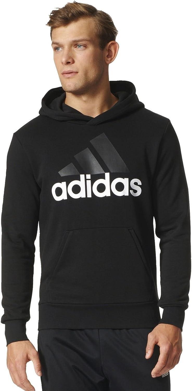 adidas Herren Essentials Linear Pullover Hood French Terry Kapuzenpullover