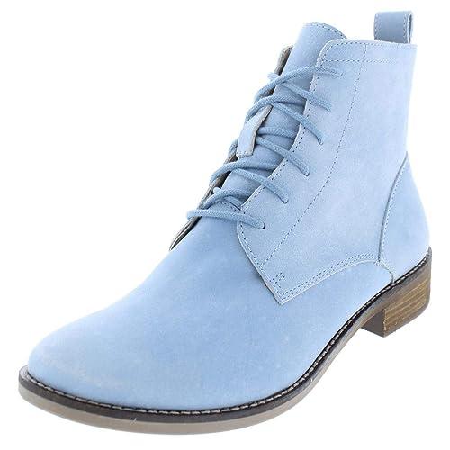 2f944e5ee79 Amazon.com | Lucky Brand Norwood Booties Women's Shoes Chambray ...