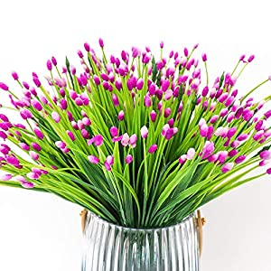 Yunuo 6PCS Mini Fruits Grasses Plants Artificial Flowers for Home Wedding Party Decor 6