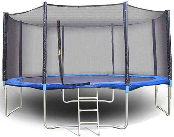 Trampolines Trampolín De Jardín A Gran Escala Al Aire Libre, Cama De Salto para Niños Y Adultos con Cama Elástica, Trampolín del Parque Empresarial Plaza Bungee Kindergarten, con Escalera: Amazon.es: Hogar
