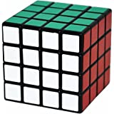 Coolzon 4x4x4 Magic Cube Brain Teasers Puzzles Toy Speed Cube 62mm, Black