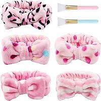 TOBATOBA 10 Pack Headbands for Women Boho Turban Headwraps Twisted Headband Criss Cross Head wraps Bows Hair Accessories…
