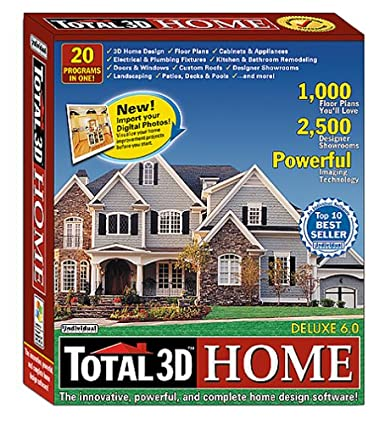Attractive Total 3D Home Deluxe 6.0 (Old Version)
