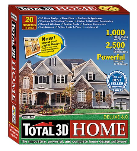 Individual Software Total 3D Home Deluxe 6.0 (Old Version)