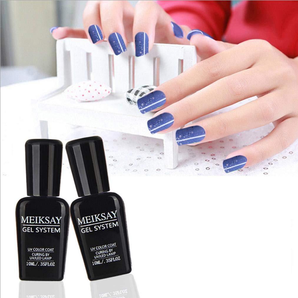 amuster esmalte de uñas uñas postizas y cápsulas Poudres y líquido acrílico para uñas Pegatinas y plantillas para Nail Art: Amazon.es: Belleza