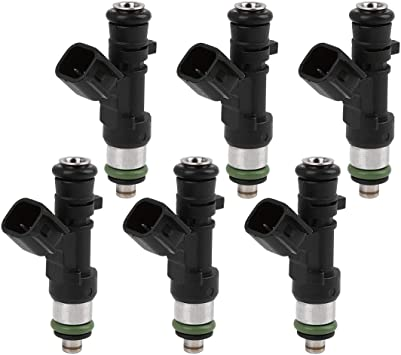 6Pcs 0280158028 Fuel Injectors Fit For 2005-2010 Dodge Chrysler 4591986AA
