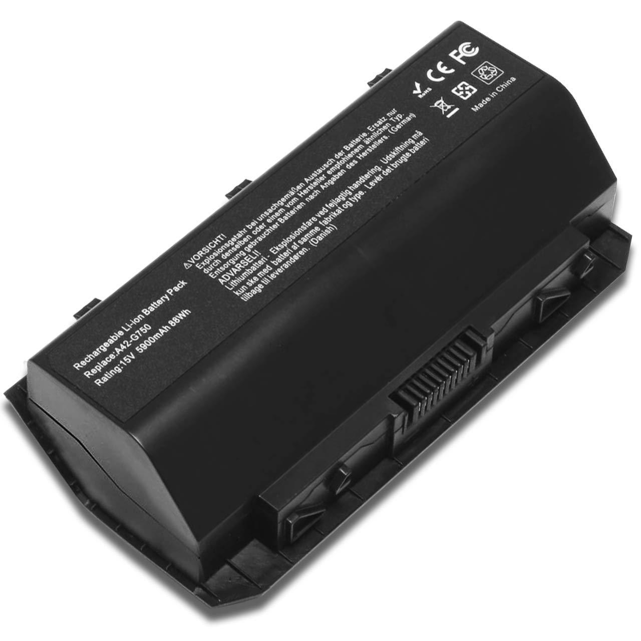 Bateria 88Wh A42-G750 G750 G750J G750JH Asus ROG G750JH G750
