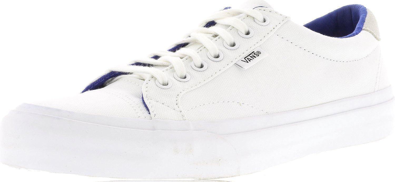13ccc9b1997383 Vans Mens Court Canvas Low Top Lace Up Skateboarding Shoes