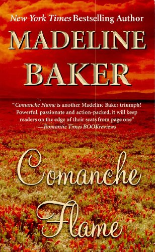 book cover of Comanche Flame