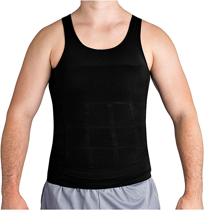 mens shapewear vest mens full body compression suit