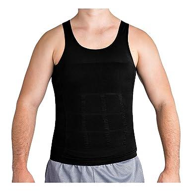 f4807368 Roc Bodywear Men's Slimming Body Shaper Compression Shirt Slim Fit  Undershirt Shapewear Mens Shirts Undershirts USA