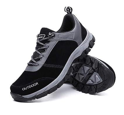 dc2a97920ef6c Amazon.com: FGSJEJ Men's Hiking Shoes Travel Shoes Outdoor Non-Slip ...