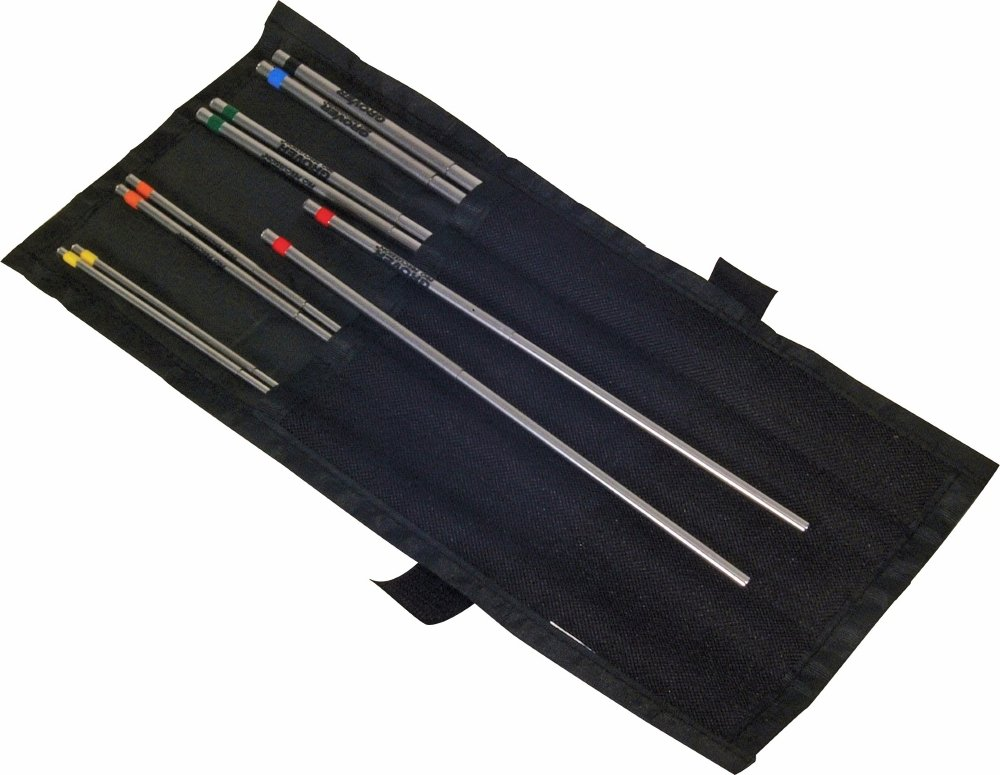Grover Pro TB Professional Triangle Beater Sets six tubular beaters TB-S