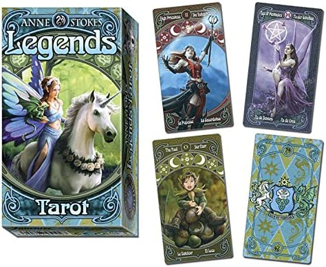 Anne Stokes Legends Tarot: Amazon.es: Anne Stokes: Libros en ...