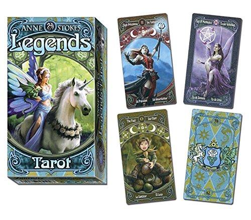 Anne Stokes Legends Tarot (Inglés) Cartas – 8 jun 2016 LLEWELLYN PUB 0738749907 Divination - Tarot Body
