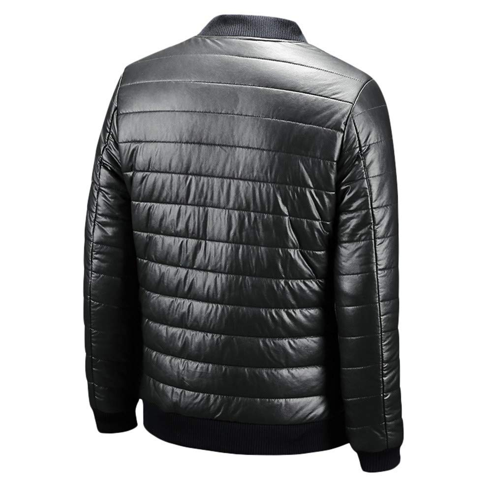 Pandaie-Mens Product Winter Jackets for Men Light Mens Autumn Winter Casual Leather Jacket Coat