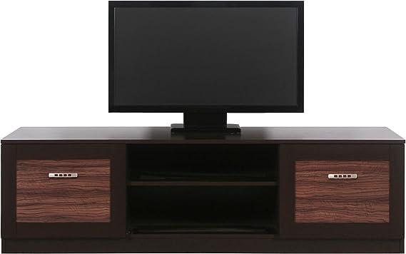 Boss tamaño grande extra anchos para hombre mueble para televisor con función de atril con cajones Armario para dispositivos de estante de madera de roble de olivo maggia color huecos de muebles
