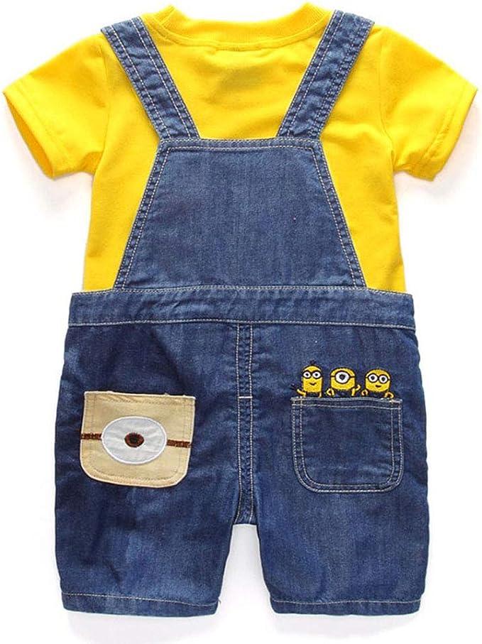 Amazon.com: Juego de pantalones vaqueros para niños, traje ...