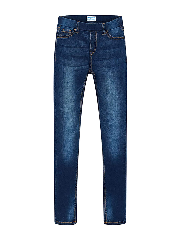 Dark 0554 Basic Denim Pants for Girls Mayoral