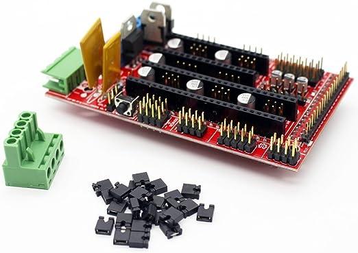 Amazon.com: ARCELI 3D Printer Controller RAMPS 1.4 Mega ...