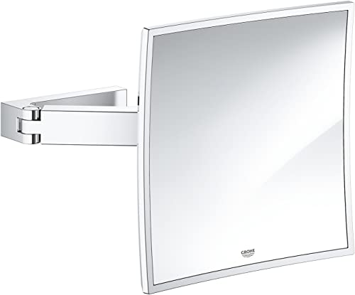 Grohe 40808000 Selection Cube Cosmetic Mirror