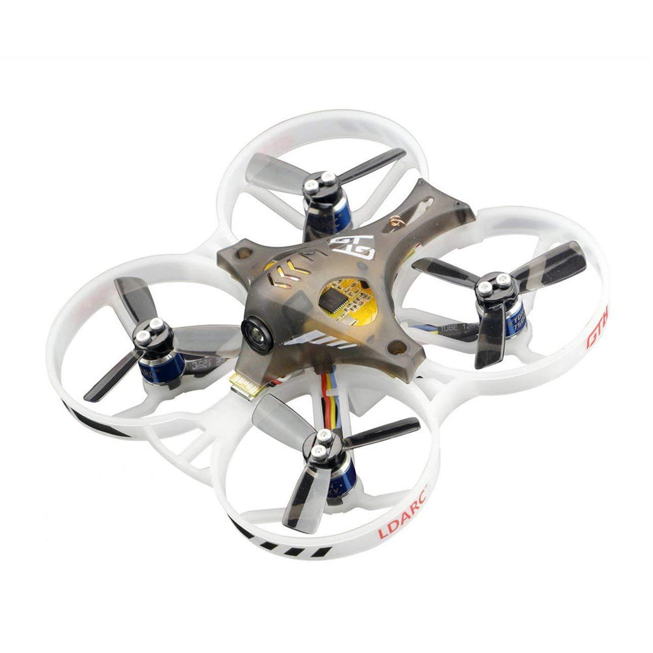 descuento online Ballylelly Drone RC con CameraLDARC Tiny GT7 75mm 75mm 75mm 2S FPV Mini Brushless Racing Drone Quadcopter con Receptor RX2A Pro F3 800TVL Cámara 25mW VTX PNP  venta con descuento