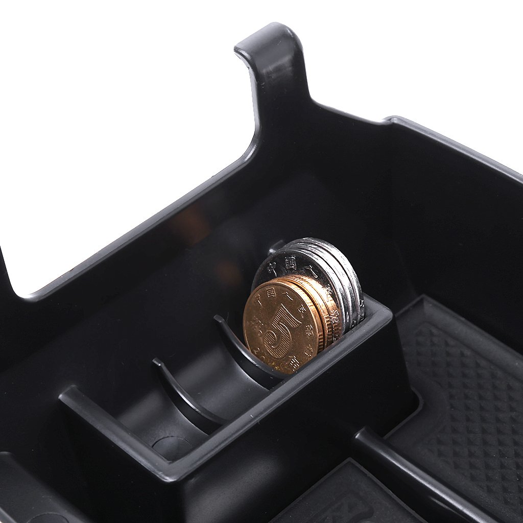 Fuwahahah Armrest Console Central Storage Box Fit for Mercedes Benz C Class W204 2008-2013