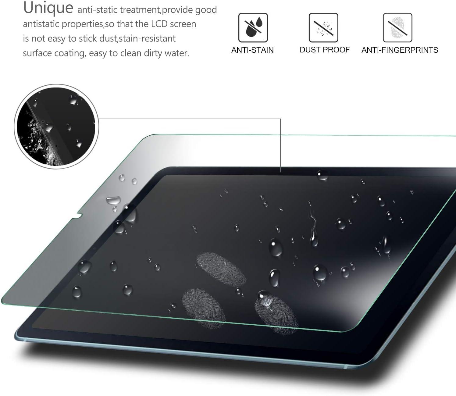 9H 2,5D Vetro Temperato Protezioni Pellicola per Samsung Galaxy Tab S6 Lite 10.4 Pollice, ELTD Pellicola Protettiva per Samsung Galaxy Tab S6 Lite 10.4 2-Pezzi