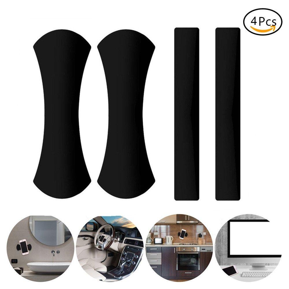 EVILTO 2 Pack Handy Stä nder Antirutschmatte KFZ Halterung Universal Fixate Gel Pads Auto-Armaturenbrett Antirutschmatte