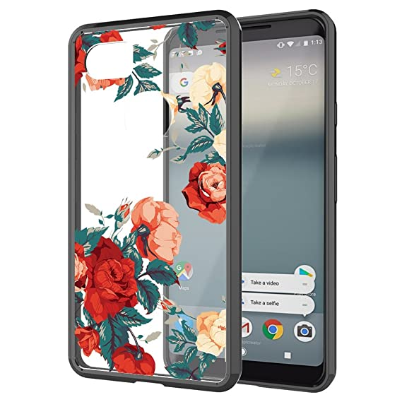 best sneakers b8543 e2d9e Google Pixel 2 XL Case, Google Pixel XL 2 Case, Skmy Shockproof Hard PC+  TPU Bumper Case Scratch-Resistant Cover for Google Pixel XL 2 / Google  Pixel ...