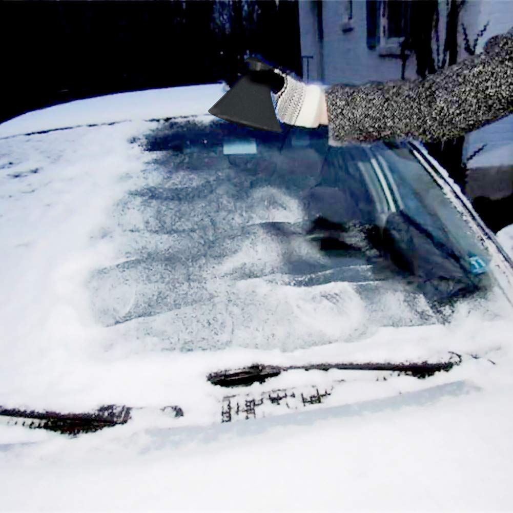 AimdonR Grattoir /à glace en forme de c/ône Grattoir /à glace pour voitures Le grattoir /à pare-brise /élimine sans effort le givre et la glace des pare-brise
