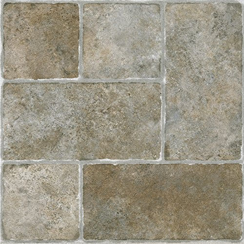 Achim Home Furnishings Achig FTVGM33720 Nexus Quartose Granite,12 Inch x 12 Inch, Self Adhesive Vinyl Floor 337, 20 Tiles