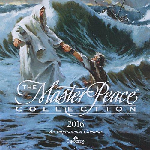 "DaySpring 12"" x 12"" 2016 12-Month Premium Craft Paper Wall Calendar, Masterpeace (72810)"
