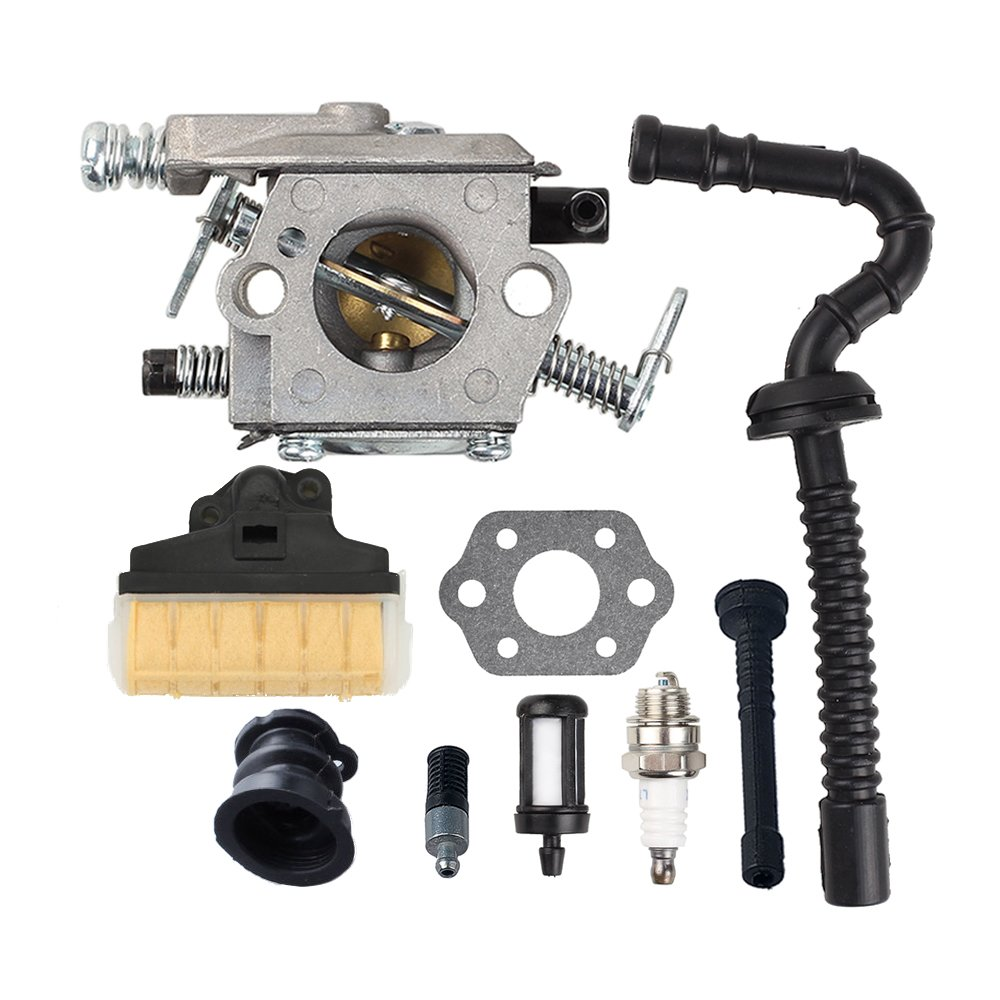 Savior Carburetor Air Filter Tune Up Kit for Stihl Chainsaw 021 023 025 MS210 MS230 MS250 Replace WT286 by Savior