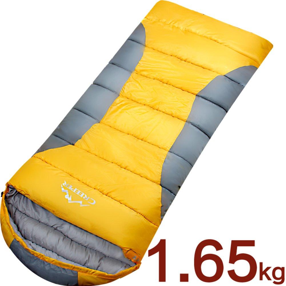 大人用アウトドアSleepingバッグ/ Ultralight Sleepingバッグ厚い封筒/キャンプ/コットンSleepingバッグランチ B072DVHVQ8  D