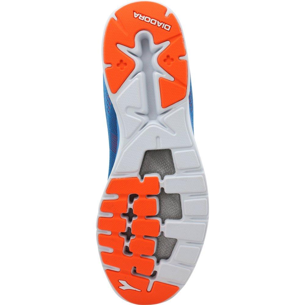 Diadora Schuh Running Turnschuhe Jogging Herren nj-303 hochflorige hochflorige hochflorige CGoldnel Blau Orange Schuhe 76db8f